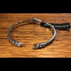 Givenchy Swavorski Crystal Cuff Bracelet